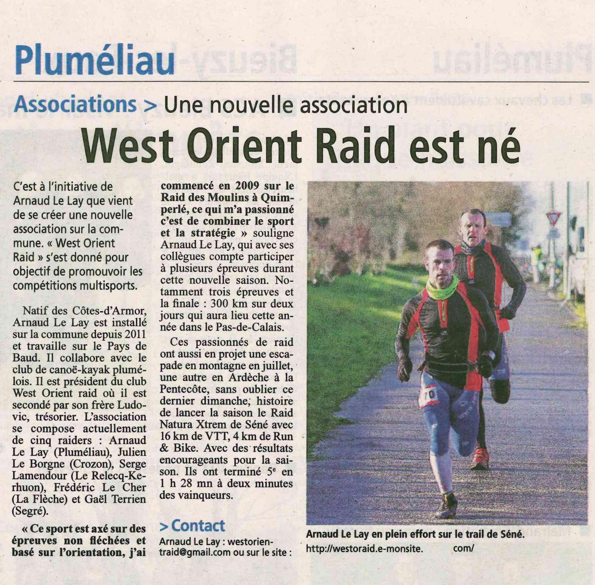 La gazette du morbihan 6 fev 2015